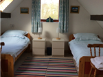 Upstairs Twin Room at The Hill Cottage Ireland