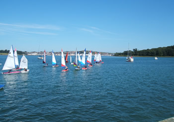 Sailing on Strangford Lough - a short drive form The Hill Cottage Accommodation